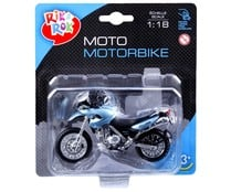 Surtido de motos de grandes marcas a escala 1:18 ONE TWO FUN.