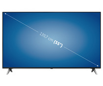 "Televisión 139,7 cm (55"") LED LG 55SM8500 4K, HDR, SMART TV, WIFI, BLUETOOTH, TDT T2, USB reproductor y grabador, 4HDMI, 3300HZ."