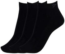 Pack de 3 pares de calcetines DUNLOP Performance, color negro, talla 43/46.