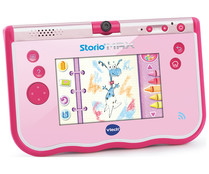 "Tablet educativa multifunción de 5"" color rosa Storio Max VTECH."