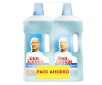 Limpiahogar PH neutro DON LIMPIO 2 uds. x 1,5 l.