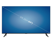 "Televisión 109,22 cm (43"") LED SAMSUNG 43TU8005 4K, HDR, SMART TV, WIFI, BLUETOOTH, TDT T2, USB reproductor y grabador, 3HDMI, 2100HZ."
