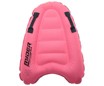 Tabla de bodyboard hinchable foamizada, color rosa, RYDER.