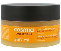 Gelatina exfoliante, con aceite de argán COSMIA Collection 250 ml.