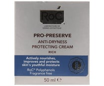 Crema protectora anti-sequedad para pieles sensibles ROC 50 ml.