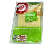 Queso   en lonchas Havarti Light AUCHAN, 200 g.