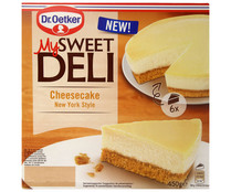 Tarta de queso estilo New York DR. OETKER My Sweet deli 450 gr.