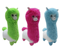 Funky, llama de peluche de 41cm., color verde, rosa o azul, ONE TWO FUN ALCAMPO.