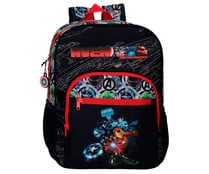 Mochila escolar Avengers Armour Up color negro, MARVEL.