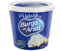 Queso de untar natural BURGO DE ARIAS 140 gr,