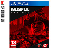 MAFIA Trilogy para Playstation 4. Género: acción, shooter. PEGI: +18.