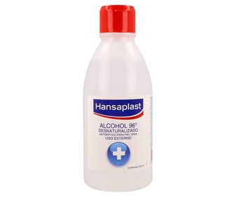 Alcohol 96 Alcanforado HANSAPLAST 250 ml.