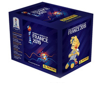 Women's World Cup 2019, sobres cromos. PANINI.