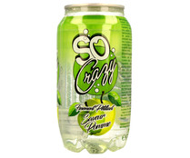 Refresco de manzana SO CRAZY lata de 33 cl.
