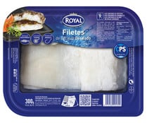 Filete de bacalao desalado ROYAL 300 g.