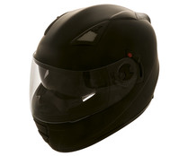Casco integral con doble pantalla, talla XL, negro mate, IMPEX SWT-3700.