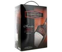Vino tinto de Australia BADGERS CREEK bag in box de 3 litros