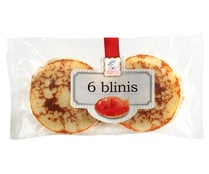 Blinis AHUMADOS DOMINGUEZ 6 uds. 162 g.
