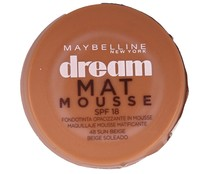 Maquillaje mousse nº048 MAYBELLINE DREAM MAT MOUSSE