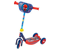 Patinete infantil de Spiderman con tres ruedas, SPIDERMAN