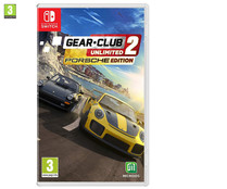 Videojuego Gear.Club unlimited 2 para Switch. Género: conducción. PEGI: +3.