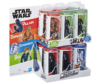 Figuras Galaxy of Adventures Star Wars. HASBRO.