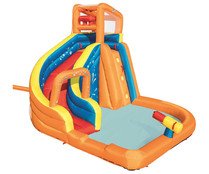 Mega parque acuático hinchable, 365x320x270cm., Turbo Splash BESTWAY.