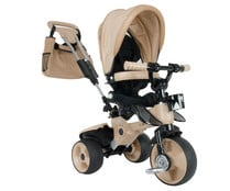 Triciclo evolutivo City max 360 color beige, INJUSA.