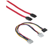 Cable QILIVE, SATA 2 + Y Power, 1 metro.