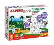 Kit actividades alpino activity recorta y colorea animales, ALPINO.