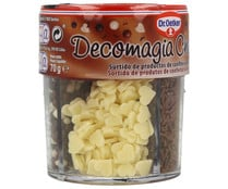 Bote chocolate decomagia, DOCTOR OETKER, 70 gr,.