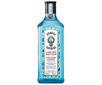 Ginebra tipo London Dry Gin infusionada con menta, rosa mosqueta y avellana BOMBAY Sapphire english estate 70 cl.