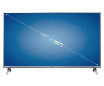 "Televisión 139,7 cm (55"") LED LG 55UK6500 4K, SMART TV, WIFI, TDT T2, USB reproductor y grabador, 4HDMI, 2000HZ."
