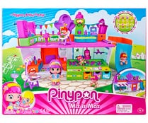 Escenario de juego Baby Party con accesorios y 3 figuras Mix is Max, PINYPON.