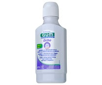 Enjuague bucal sin alcohol y con efecto anti placa GUM Ortho 300 ml.