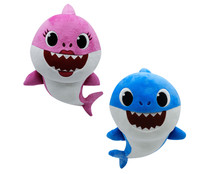 Familia Baby Shark musical de peluche, Daddy Shark o Mommy Shark, BABY SHARK.