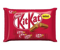Barrita mini de galleta recubierta de chocolate Kat Mini NESTLÉ 200 gr,