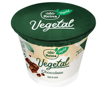 Postre vegetal a base de coco y chocolate REINA Vegetal 115 g.