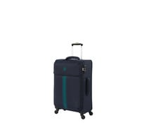 Maleta tamaño intermedio de color azul soft 67cm 4 ruedas tsa EVA, IT LUGGAGE.