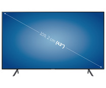 "Televisión 109,22 cm (43"") LED SAMSUNG UE43RU7105 4K, HDR, SMART TV, WIFI, BLUETOOTH, TDT T2, USB reproductor y grabador, 3HDMI, 1400HZ."