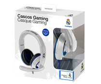 Auricular estéreo con micrófono para Playstation 4 y X-box One, REAL MADRID.
