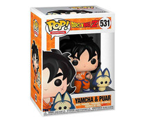 Figura Yamcha y Puar, Dragon Ball Z de 10 cm. aprox. Animation 531 FUNKO POP!