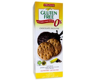 Galletas con chocolate negro sin gluten 135g