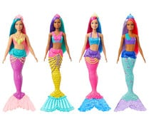Muñeca sirena con cola brillante, Dreamtopia BARBIE.