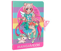 Notas adhesvas to go manga model girl with unicorn, VV.AA:, Género: Infantil, DEPESCHE.