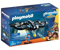 Conjunto de juego Robotitron con Dron, The Movie 70071, PLAYMOBIL.