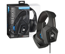 Auriculares para gaming Stormbreaker para PS4, Xbox One, PC y Switch con micrófono abatible. INDECA.