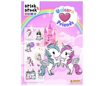 Unicorn friend Stick & Stack, VV. AA. Género: infantil. Editorial Panini.