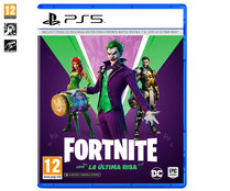 FORTNITE Lote La última risa para Playstation 5. Género: acción, shooter. PEGI: +12.
