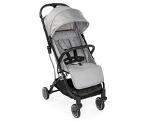 Silla de paseo hasta 15kg, plegable, 4 posiciones, color gris, CHICCO Trolley Me Light Grey.